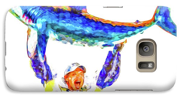 Galaxy Case featuring the photograph Pittsburgh Penguins Nhl Conquer San Jose Sharks by David Haskett