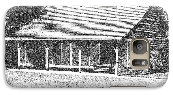 Galaxy Case featuring the photograph Place To Call Home by Ken Frischkorn