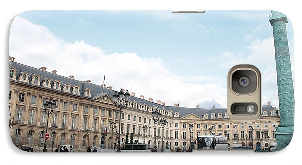 Galaxy Case featuring the photograph Place Vendome by Christopher Kirby