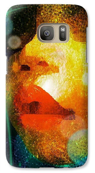 Galaxy Case featuring the photograph Placid by Iowan Stone-Flowers