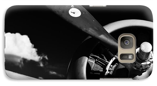 Galaxy Case featuring the photograph Plane Portrait 1 by Ryan Weddle
