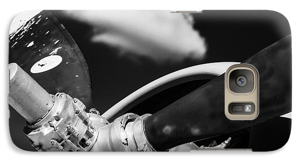 Galaxy Case featuring the photograph Plane Portrait 2 by Ryan Weddle