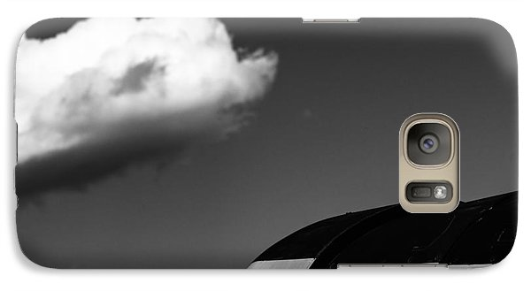 Galaxy Case featuring the photograph Plane Portrait 3 by Ryan Weddle