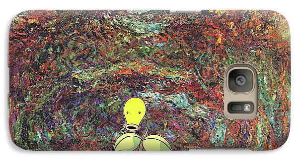 Galaxy Case featuring the digital art Planet Pokemonet  by Greg Sharpe