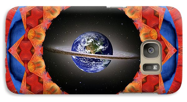 Galaxy Case featuring the photograph Planet Shift by Bell And Todd