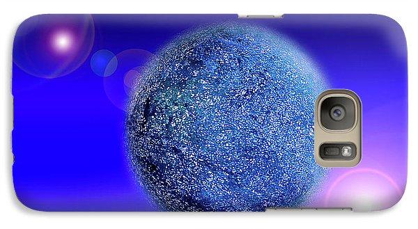 Planet Galaxy S7 Case by Tatsuya Atarashi
