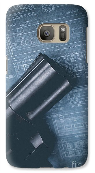 Galaxy Case featuring the photograph Planning The Heist by Edward Fielding