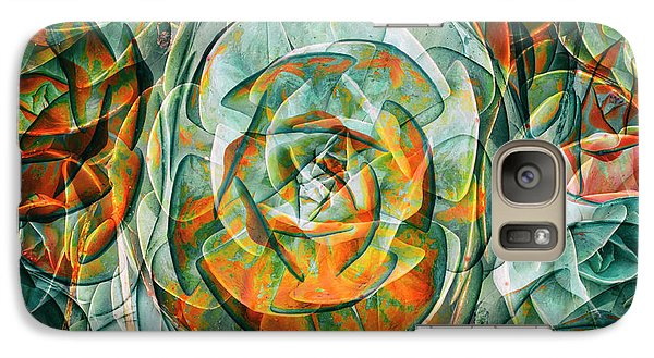 Galaxy Case featuring the photograph Plant Abstract by Wayne Sherriff