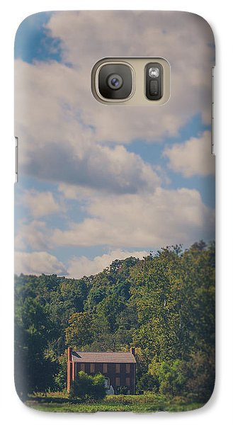 Galaxy Case featuring the photograph Plantation House by Shane Holsclaw