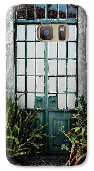 Galaxy Case featuring the photograph Plants In The Doorway by Marco Oliveira