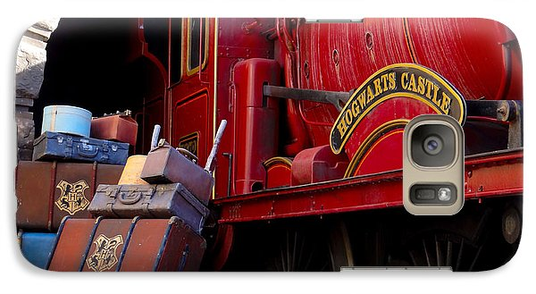 Galaxy Case featuring the photograph Platform Nine And Three Quarters by Julia Wilcox