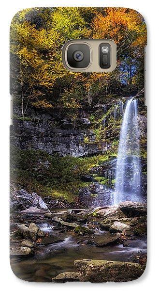 Galaxy Case featuring the photograph Plattekill Falls by Mark Papke