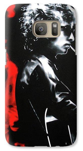 Bob Dylan Galaxy S7 Case - Play It Fuckin' Loud by Hood alias Ludzska