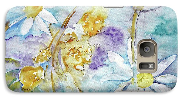Galaxy Case featuring the painting Playfulness by Jasna Dragun