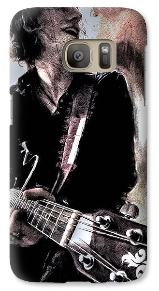 Galaxy Case featuring the photograph Playin' Grunge by Pennie  McCracken