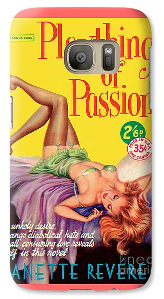 Galaxy Case featuring the painting Plaything Of Passion by Reginald Heade