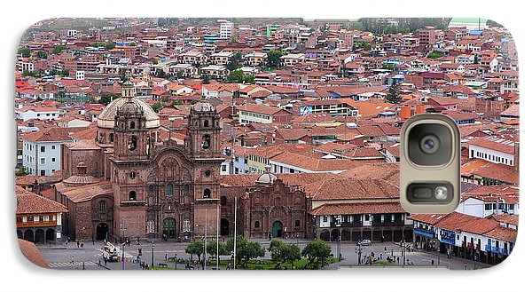 Galaxy Case featuring the photograph Plaza De Armas, Cusco, Peru by Aidan Moran