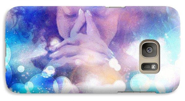 Galaxy Case featuring the digital art Pleasant Daydream by Gun Legler