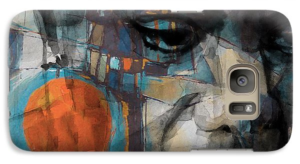 Galaxy Case featuring the mixed media Please Don't Let Me Be Misunderstood by Paul Lovering