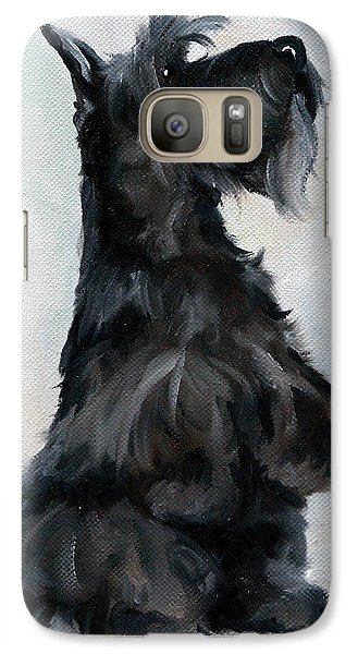 Dog Galaxy S7 Case - Please by Mary Sparrow
