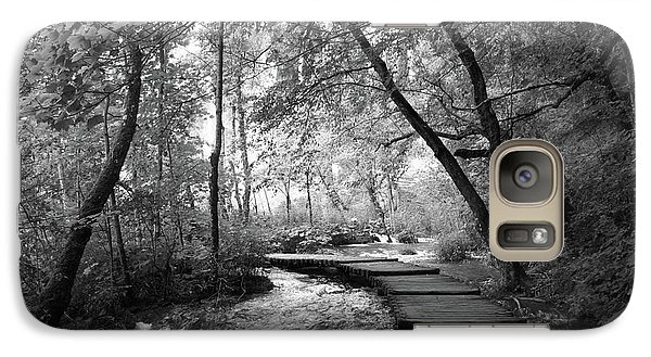 Plitvice In Black And White Galaxy S7 Case