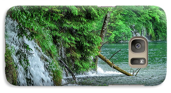Plitvice Lakes National Park, Croatia - The Intersection Of Upper And Lower Lakes Galaxy S7 Case
