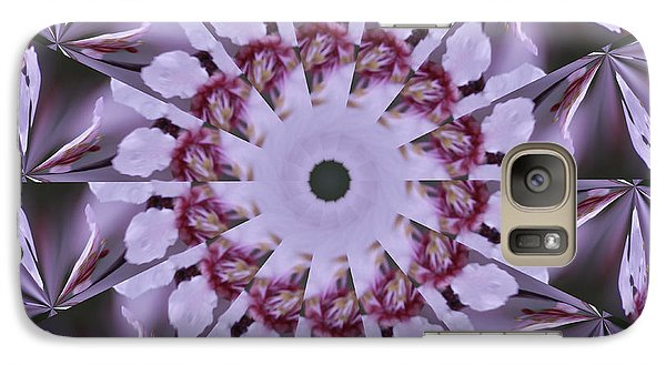Galaxy S7 Case featuring the photograph Plum Tree Kaleidoscope by Bill Barber