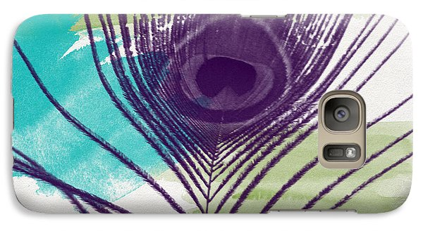 Peacock Galaxy S7 Case - Plumage 2-art By Linda Woods by Linda Woods