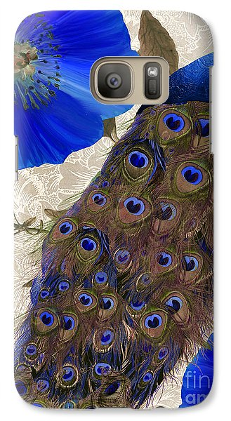 Peacock Galaxy S7 Case - Plumage by Mindy Sommers