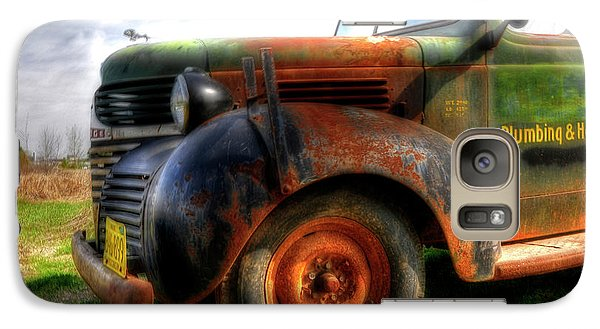 Galaxy Case featuring the photograph Plumbing And Heating by Trey Foerster
