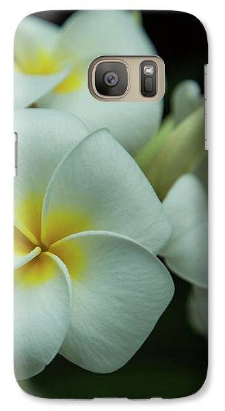Galaxy Case featuring the photograph Plumeria by Angie Vogel