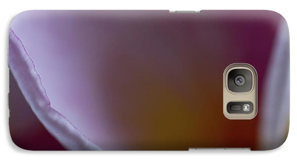 Galaxy Case featuring the photograph Plumeria Edge by Roger Mullenhour