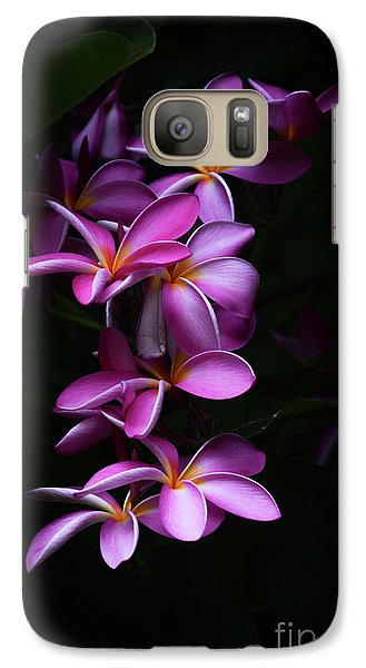 Galaxy Case featuring the photograph Plumeria Light by Kelly Wade