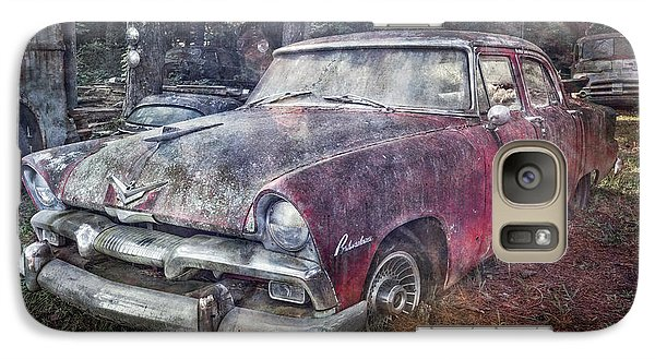 Galaxy Case featuring the photograph Plymouth Belvedere by Debra and Dave Vanderlaan