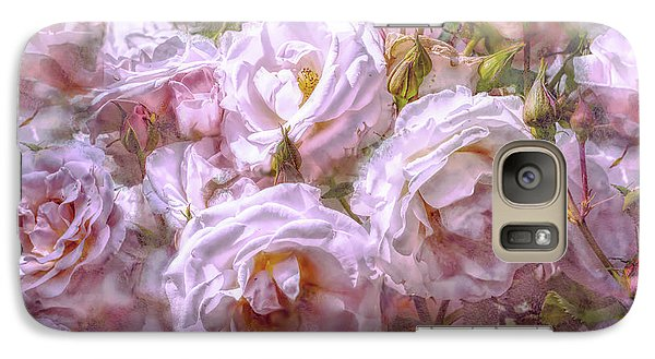 Galaxy Case featuring the digital art Pocket Full Of Roses by Kari Nanstad