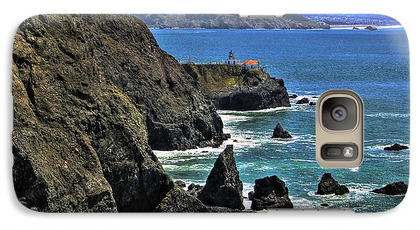 Galaxy Case featuring the photograph Point Bonita Lighthouse by Richard Stephen