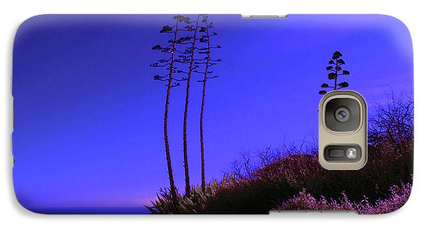 Galaxy Case featuring the photograph Point Fermin In Infrared by Randall Nyhof