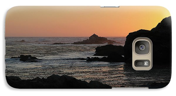 Point Lobos Sunset Galaxy S7 Case