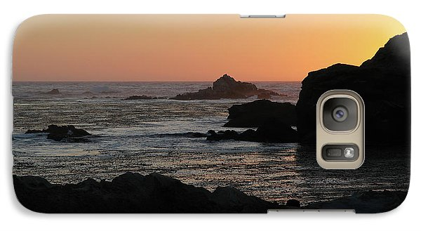 Galaxy Case featuring the photograph Point Lobos Sunset by David Chandler