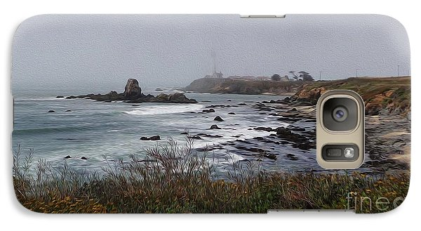 Galaxy Case featuring the photograph Point Montara Lighthouse by David Bearden