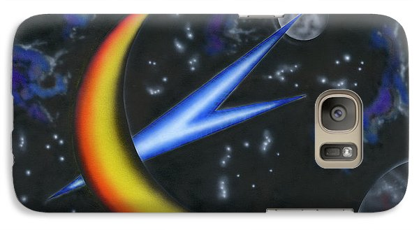 Galaxy Case featuring the painting Point Of Entry by Kenneth Clarke