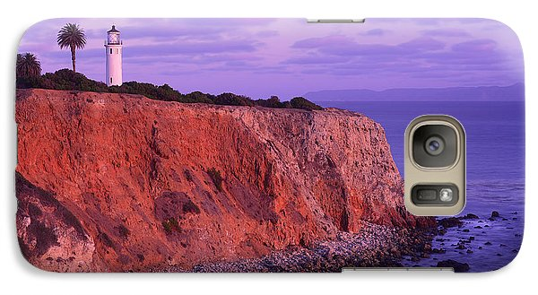 Galaxy Case featuring the photograph Point Vicente Lighthouse - Point Vicente - Orange County by Photography By Sai