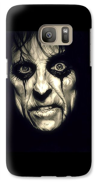 Poison Alice Cooper Galaxy S7 Case