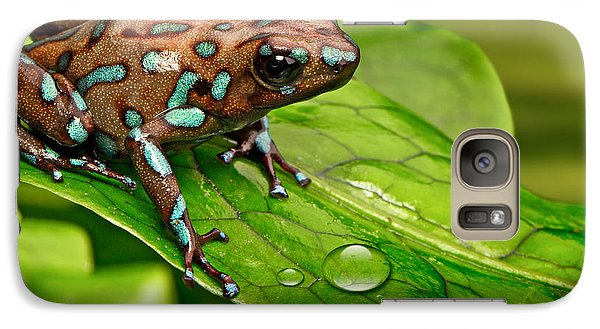 poison art frog Panama Galaxy S7 Case