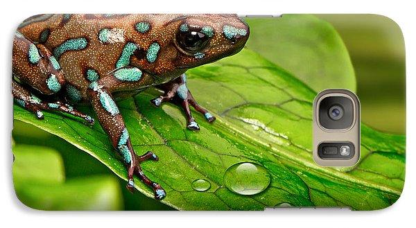poison art frog Panama Galaxy Case by Dirk Ercken