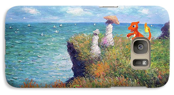Galaxy Case featuring the digital art Pokemonet Seaside by Greg Sharpe