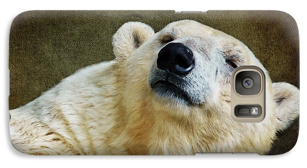 Polar Bear Galaxy S7 Case by Angela Doelling AD DESIGN Photo and PhotoArt