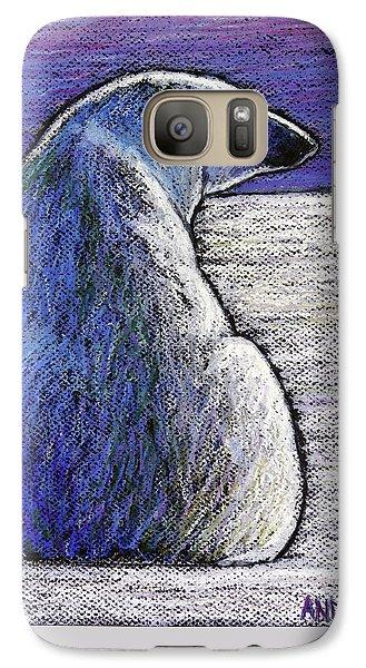Polar Bear Backside Galaxy S7 Case