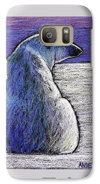 Polar Bear Backside Galaxy S7 Case by Ande Hall