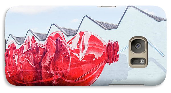 Galaxy Case featuring the photograph Polar Bear In A Coke Bottle by Chris Dutton